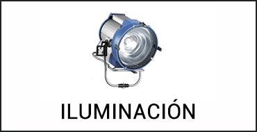 Alquiler iluminación en Madrid