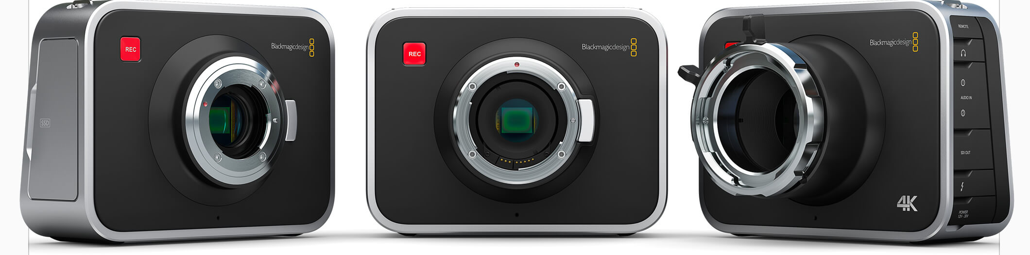 rental camera packs Blackmagic 4 k samyangrokinon