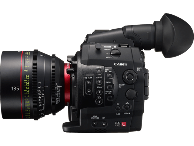 Alquiler Cámara Canon C500