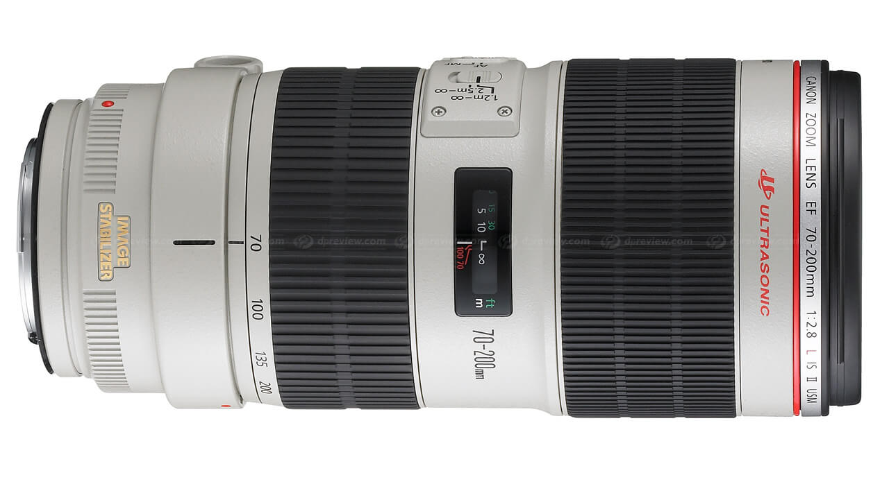 Alquiler opticas canon 70-200 - Camaleon Rental