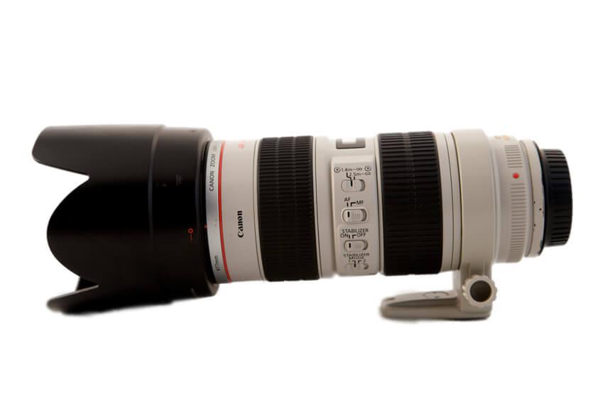 alquler opticas canon 70-200 - Camaleon Rental