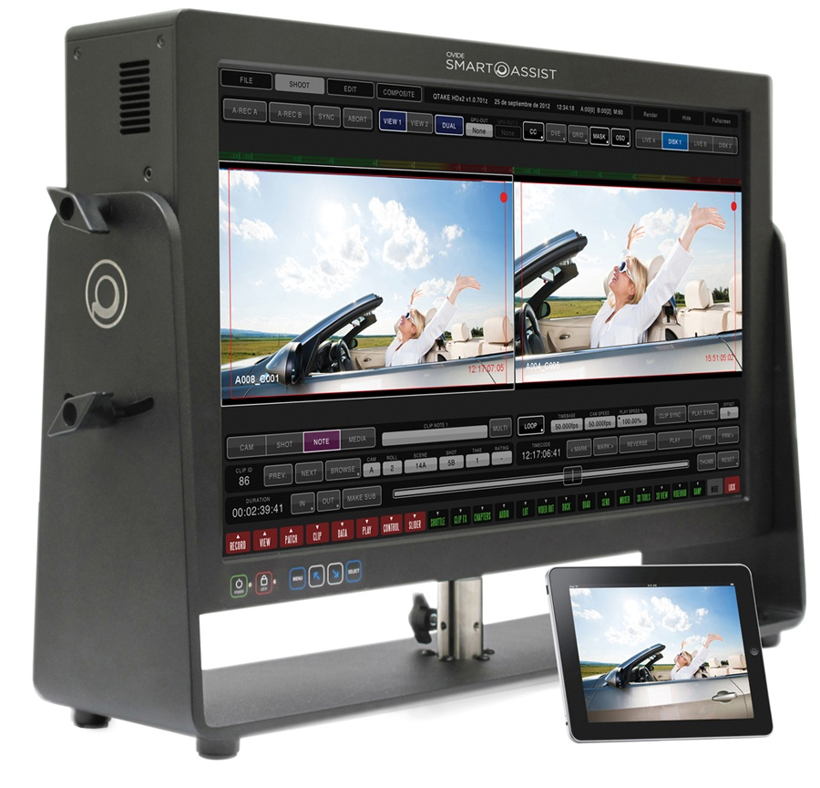 Smart-assist-videoassist-system-hire-camaleonrental