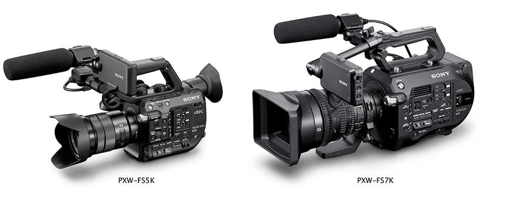 alquiler fs5 fs7 cámaras de cine madrid