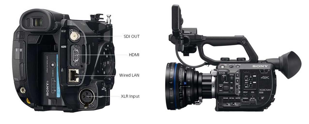 sony fs5 alquiler cámaras de cine madrid