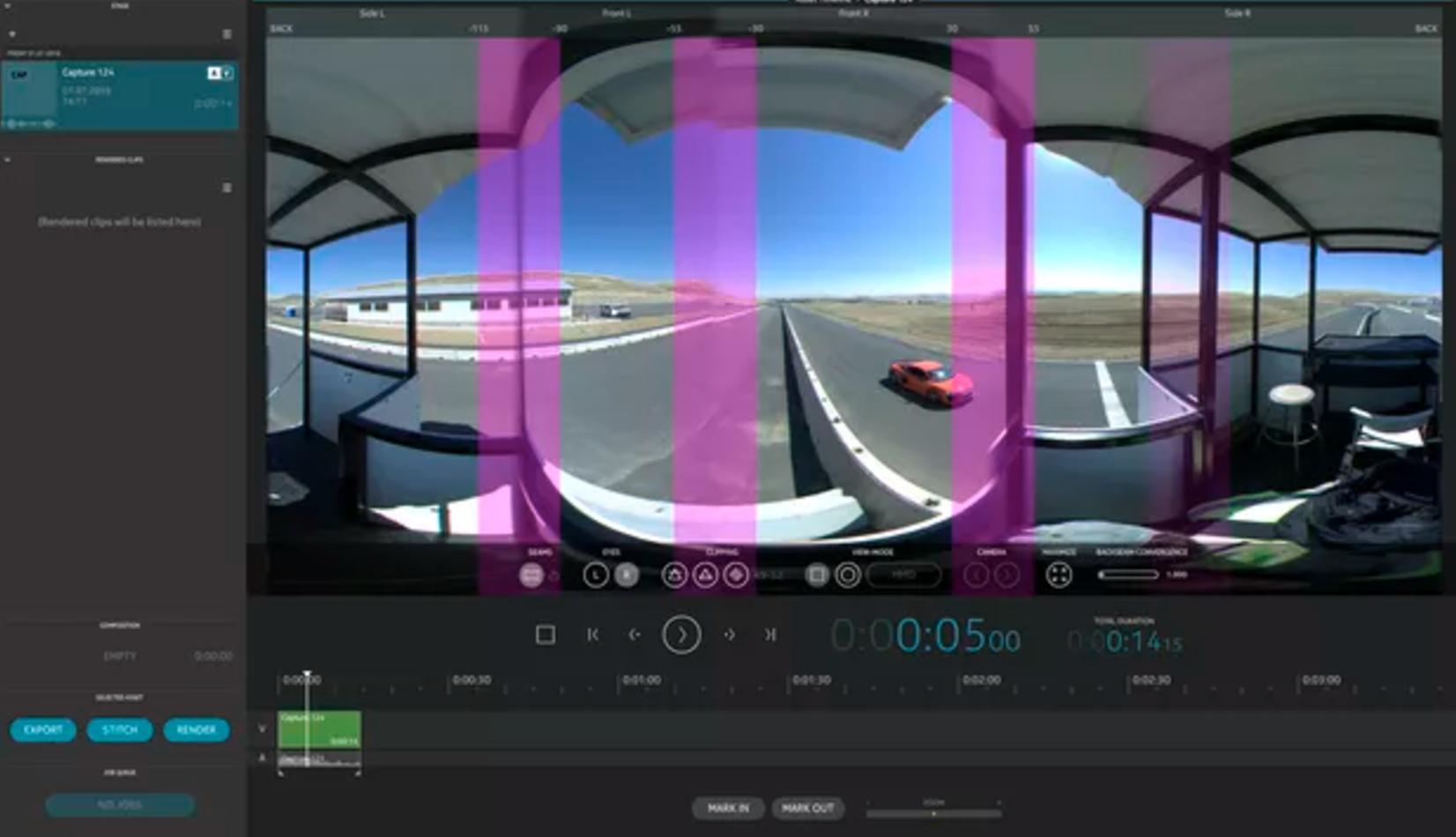 Servicios de edición de video VR | VR 360 | Camaleón Rental
