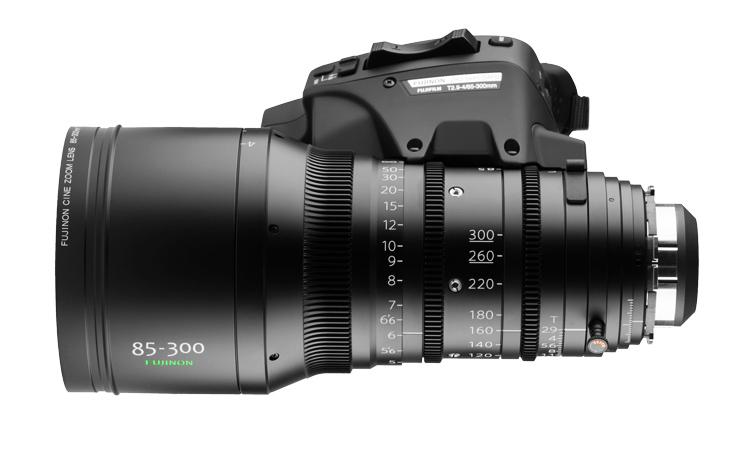 Fujinon 85-300 T2.9 - 4 Cabrio | Cine lenses | Camaleon Rental