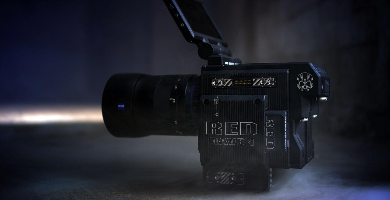 Alquiler Red Raven | Cámaras de cine digital | Camaleón Rental