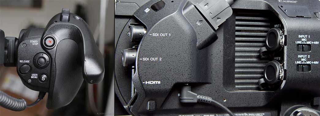alquiler Sony fs7 madrid