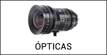 Alquiler ópticas de cine en Madrid