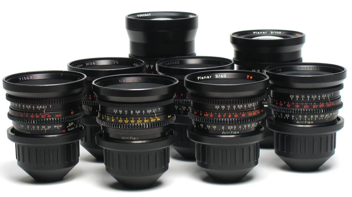Rental Lenses Zeiss Standard Primes T2.1
